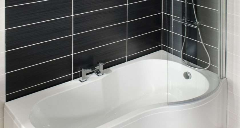 Shape Shower Bath Right Hand Includes Glass