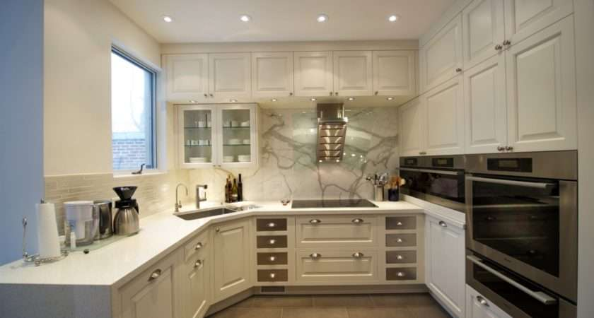 Shaped Kitchen Designs Without Island Small House