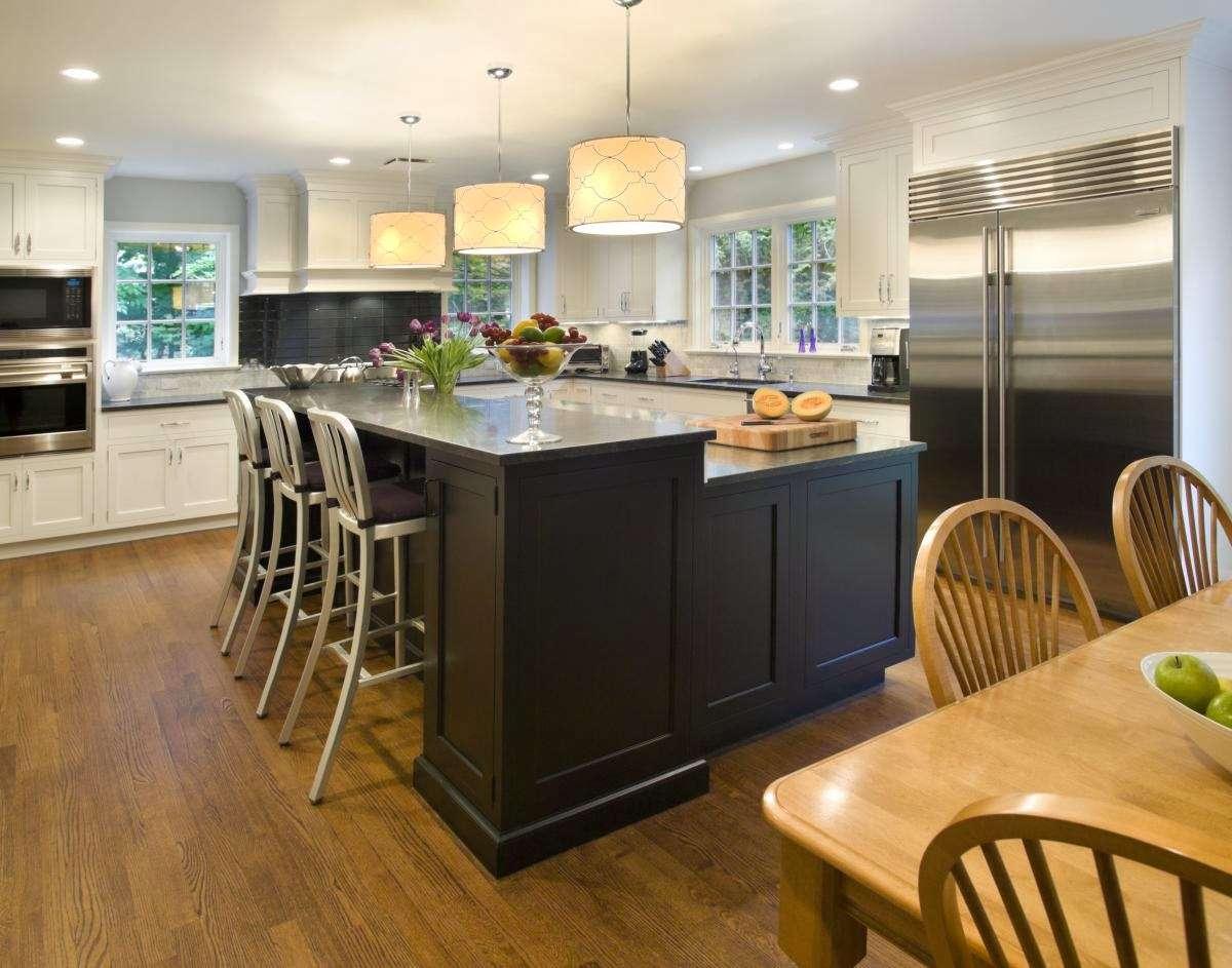Shaped Kitchen Island Ideas Tips