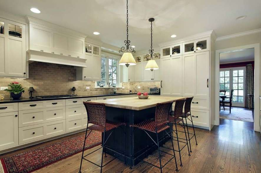 Shaped Kitchens Can Have One Long Side Shorter Two
