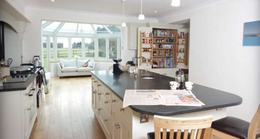 Shaped Painted Kitchen Near Guildford Dovetail Blog