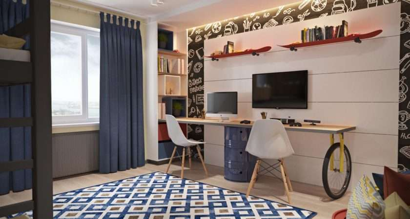 Shared Kids Rooms Detailed Examples Help Plan
