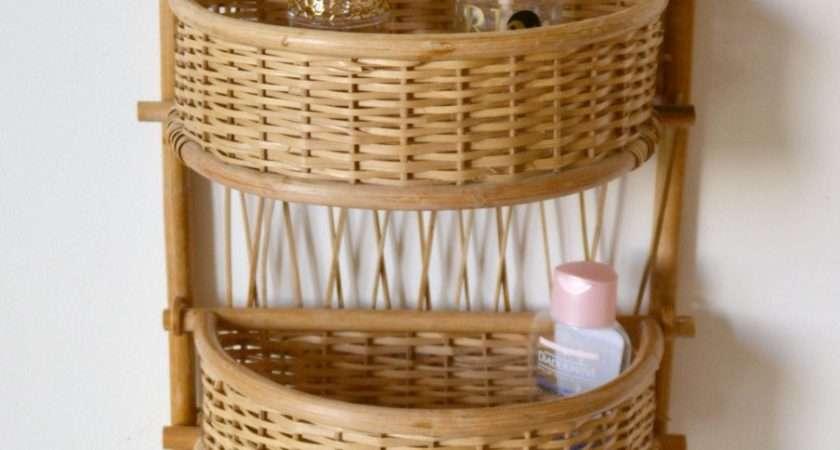 Shelf Rattan Baskets
