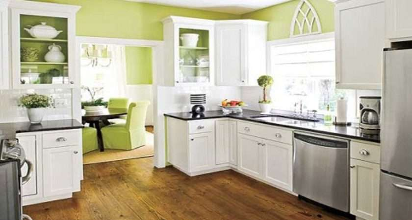 Shinny Lime Green Kitchen Design Ideas Interior Fans