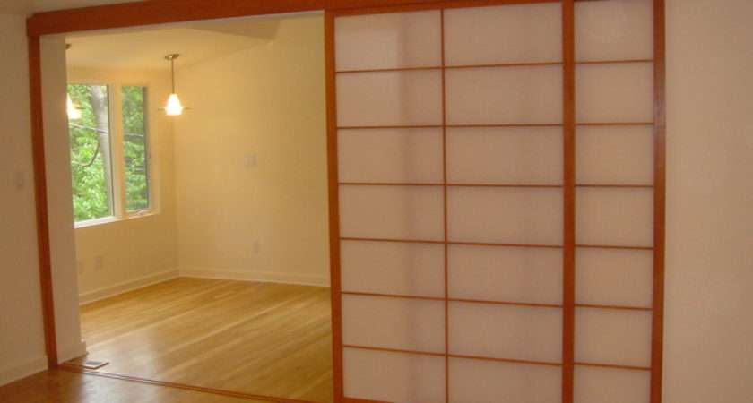 Shoji Screens Patio Door Sliding Track