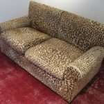 Shop Housing Works Leopard Print Couch