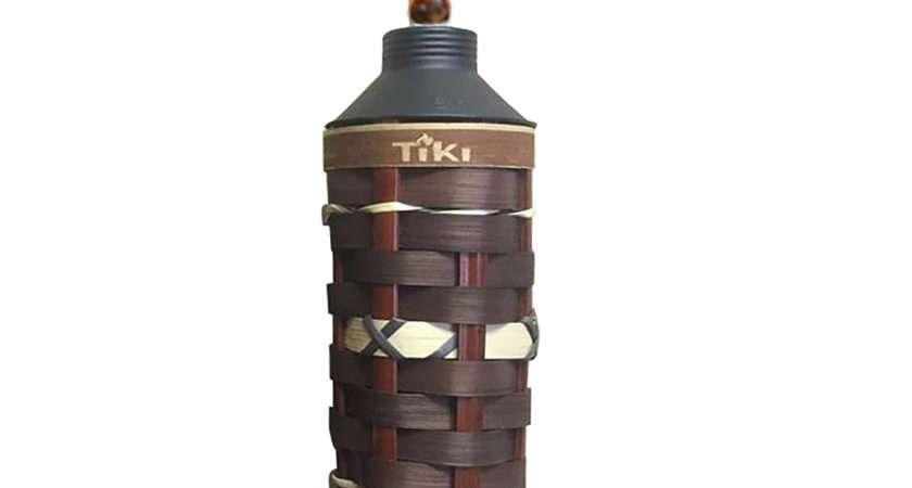 Shop Tiki Molokini Bamboo Citronella Garden Torch