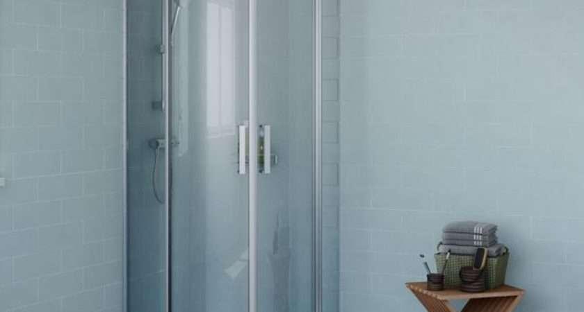 Shower Enclosures Doors Cubicles Trays Diy