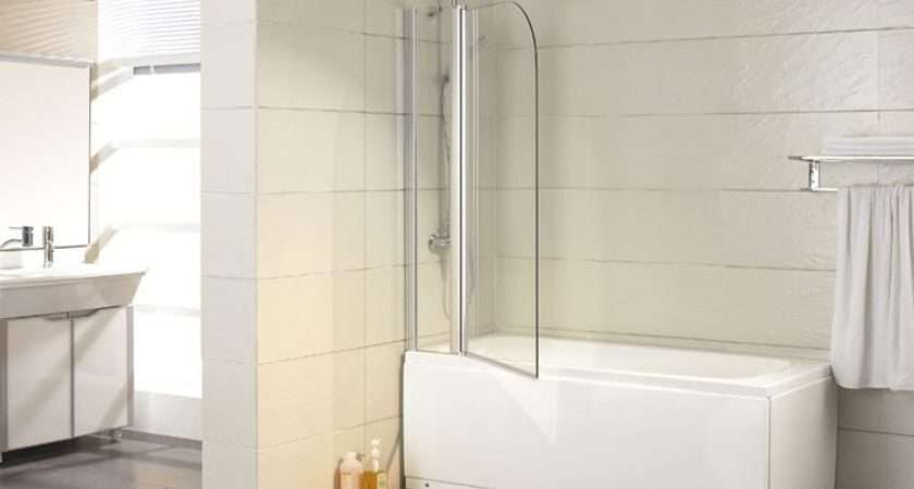 Shower Over Bath Screen Folding Freight Trade