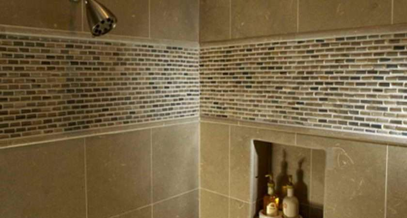 Shower Tile Design Showers Bathroom Walk
