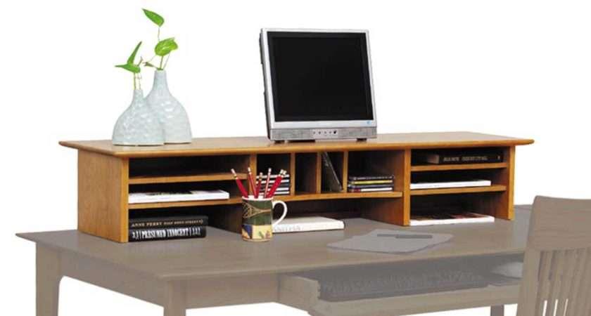 Shown Return Desk Top Organizer Sold Separately