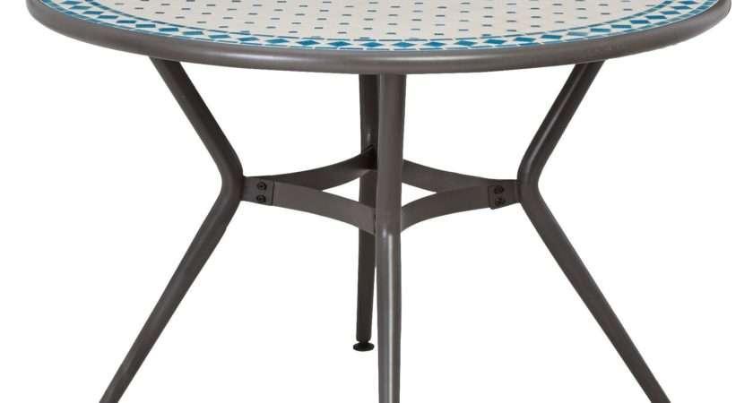 Silene Metal Seater Round Table Departments Diy