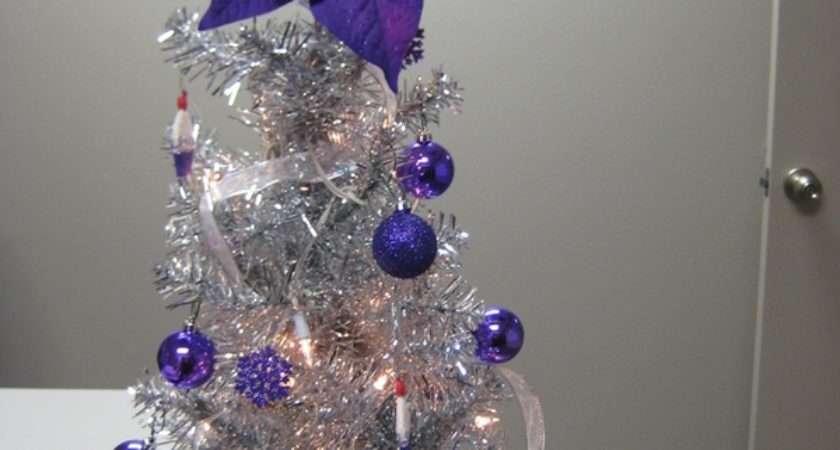 Silver Christmas Trees Festive Glamorous