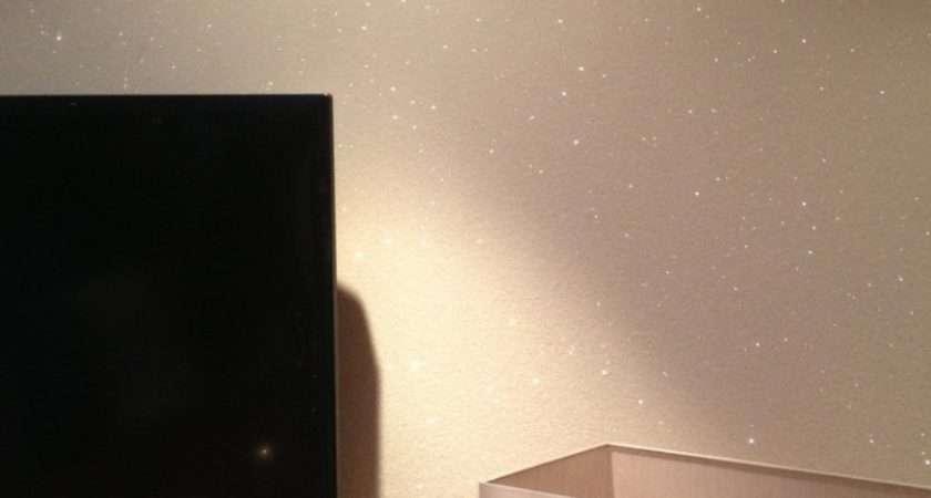 Silver Glitter Wall Paint Home Design Ideas