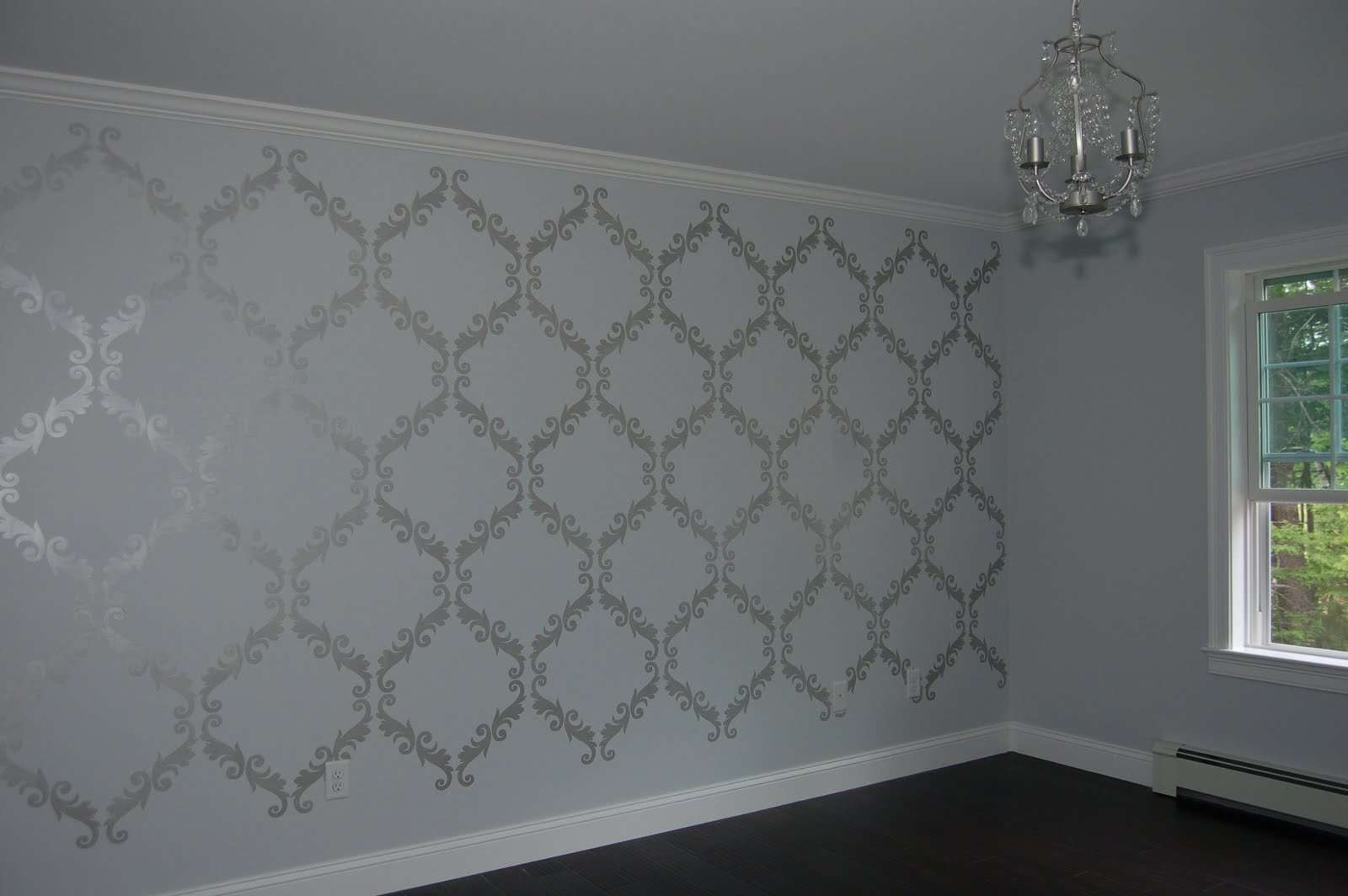 Silver Wall Paint Ideas Crafty Teacher Lady July