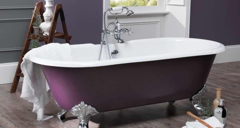 Silverdale Rosamund Dual Roll Top Bath