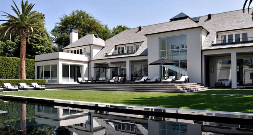 Simon Cowell Exquisite Beverly Hills Mansion Palm Drive