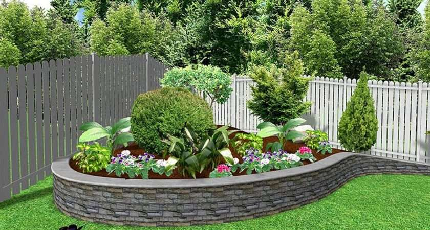 Simple Back Yard Landscaping Ideas Spaces