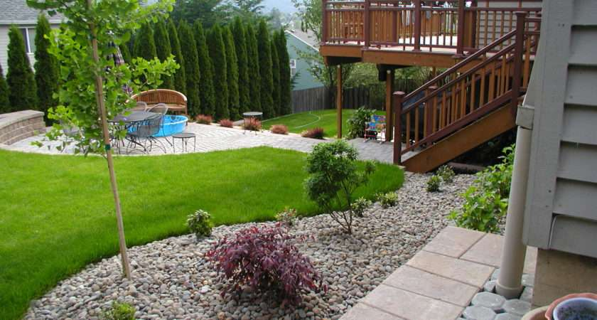 Simple Backyard Garden Ideas Photograph