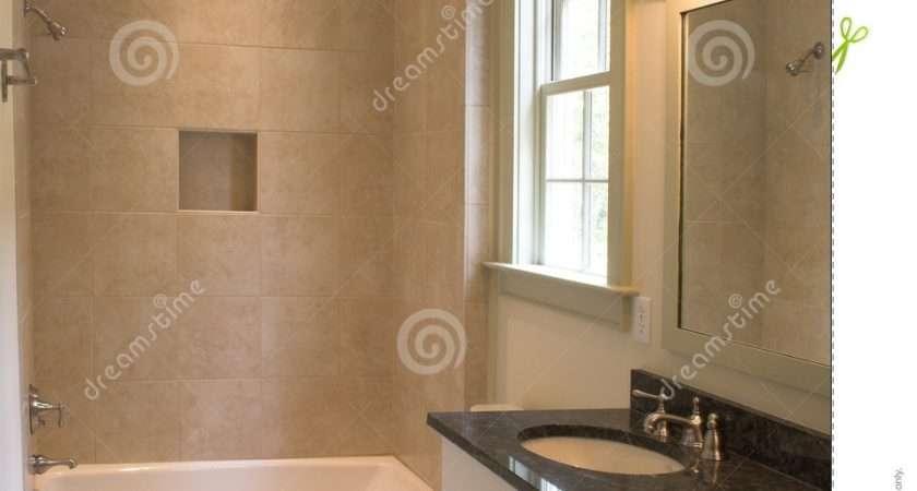 Simple Bathroom Tile Stone