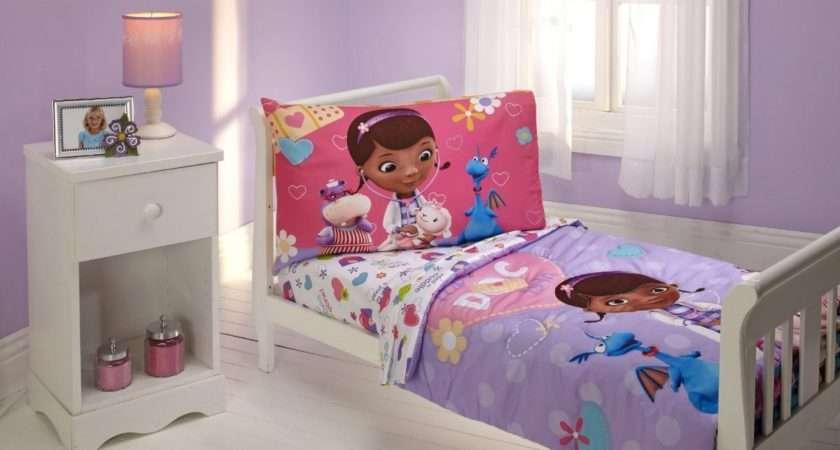 Simple Bedroom Girl Disney Doc Mcstuffins Bedding