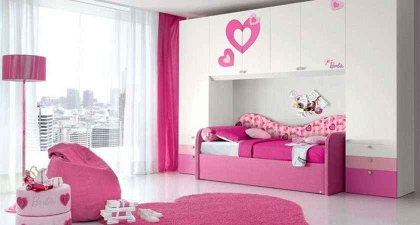 Simple Bedroom Kids Bedrooms Related Pink