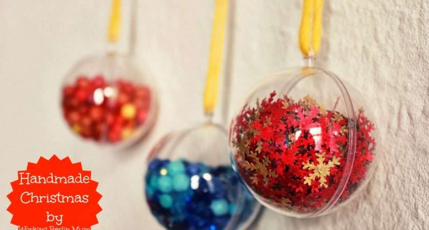 Simple Christmas Ornament Designs First Handmade