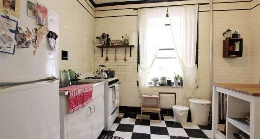 Simple Design Black White Kitchen Flooring Ceramics