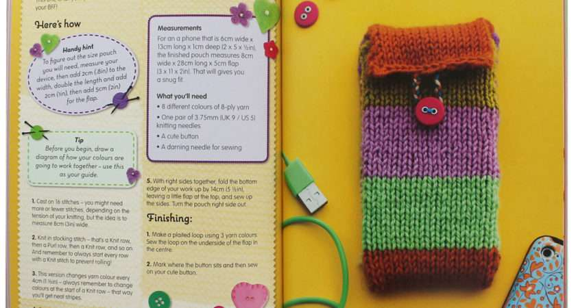 Simple Funky Knits Louise Bickle Knitting Books