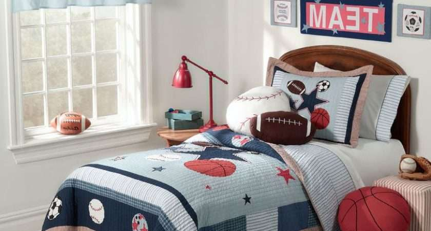 Simple Little Boy Bedroom Ideas White Blue Laminated Wall