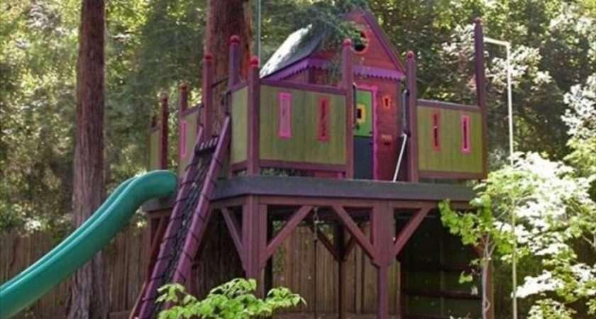 Simple Modern Kids Tree House Designs Freshnist