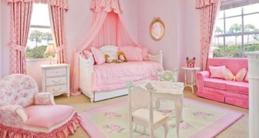 Simple Pink Bedroom Beautiful Girl Lovekidszone