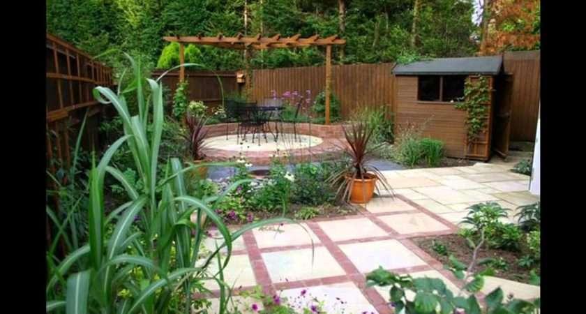 Simple Small Garden Designs Rooms Plans Ideas