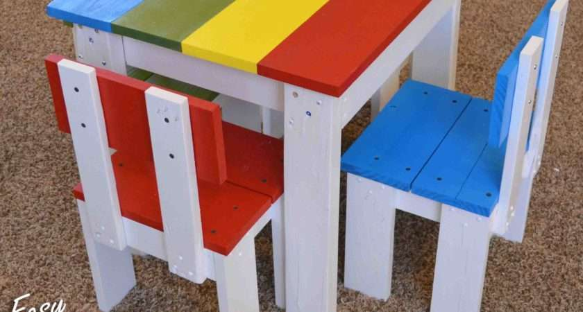Simple Table Chair Set Her Tool Belt