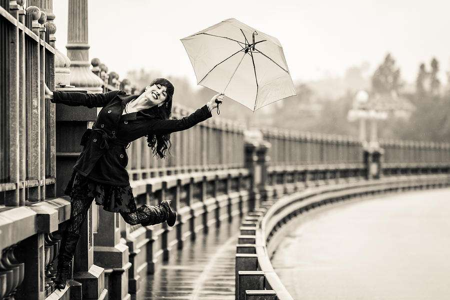 Singing Rain Photograph Kerry Jones