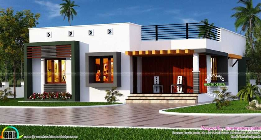 Single Floor House Front Designs Box Type