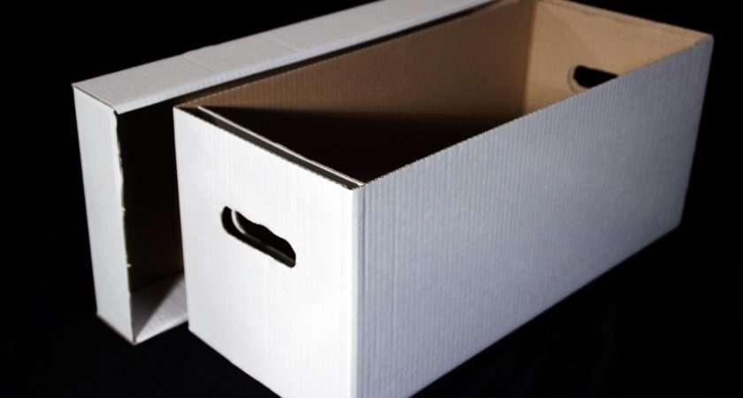 Singles Cardboard Storage Boxes Pack Five