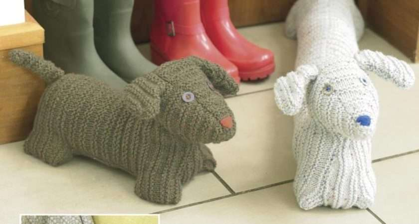 Sirdar Knitting Pattern Hot Water Bottle Cover Door
