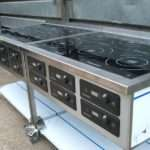 Six Ring Induction Hobs Leicester University Installed October