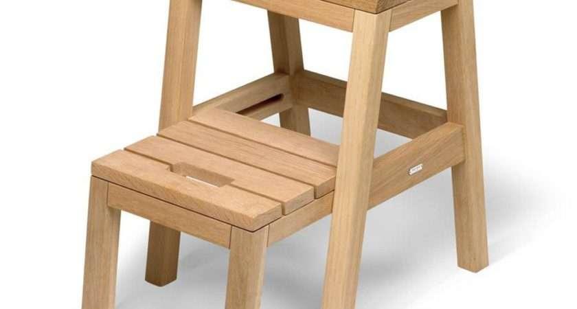 Skagerak Dania Step Ladder Oak Kitchen Furniture