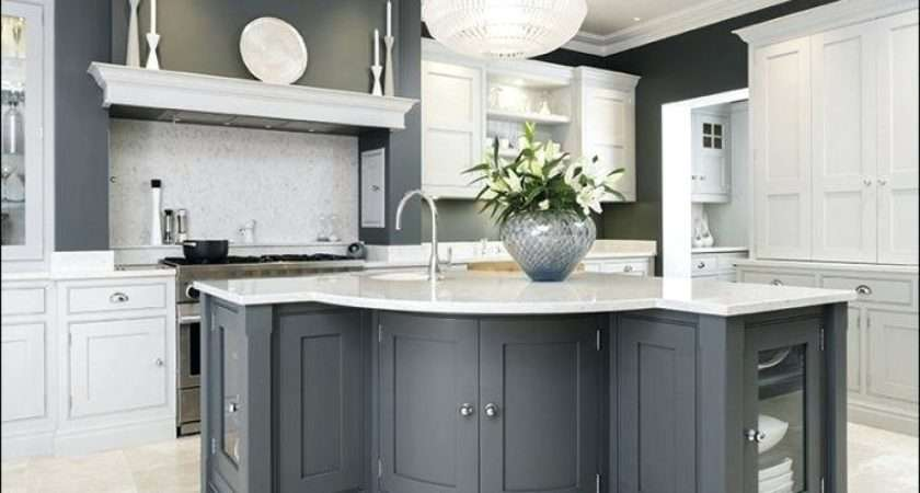Slate Blue Kitchen Cabinets Country