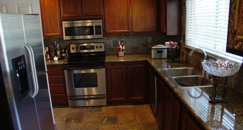 Slate Flooring Kitchen Pinterest