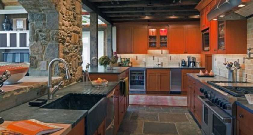 Slate Kitchen Floors Ideas Remodel Decor