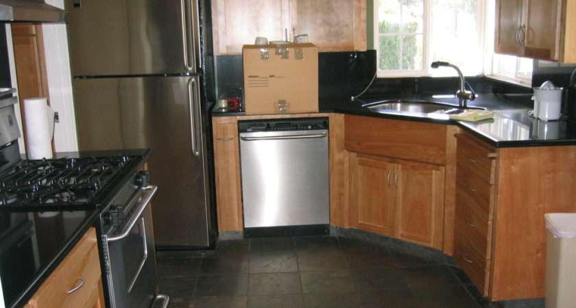 Slate Such Black Brown Tile Worktops Other Kind
