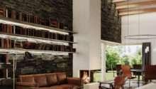 Sleek Living Room Concept Demonstrate Warm