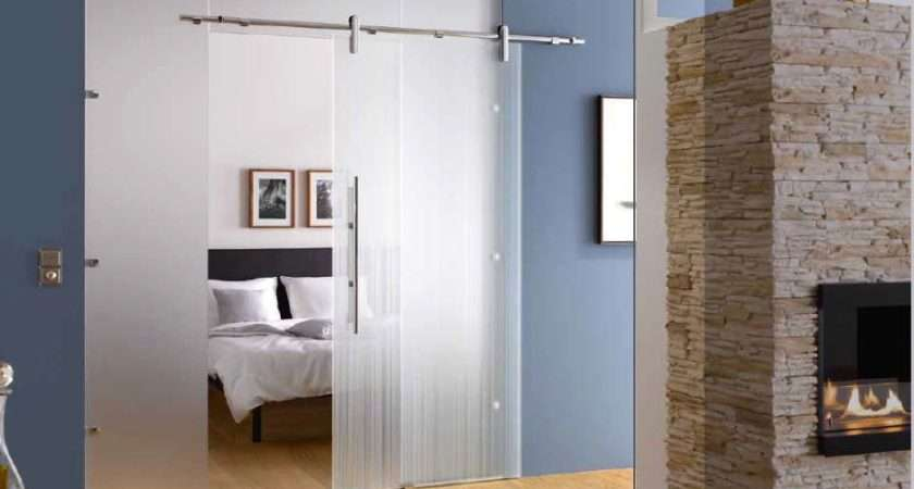 Sliding Glass Doors Internal Bespoke Tall