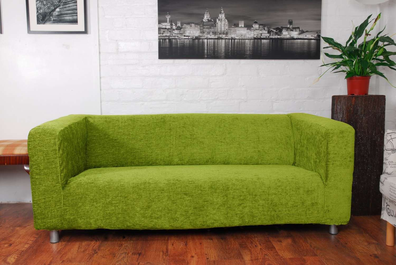 Slip Cover Fit Ikea Klippan Seat Sofa Hipicainteriors
