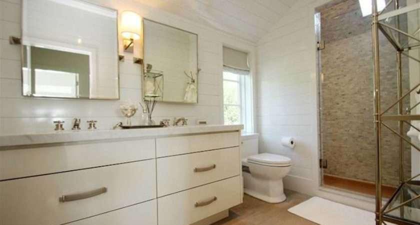Sloped Ceiling Bathroom Cieling