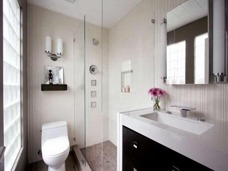 Small Bathroom Design Ideas Budget Grasscloth