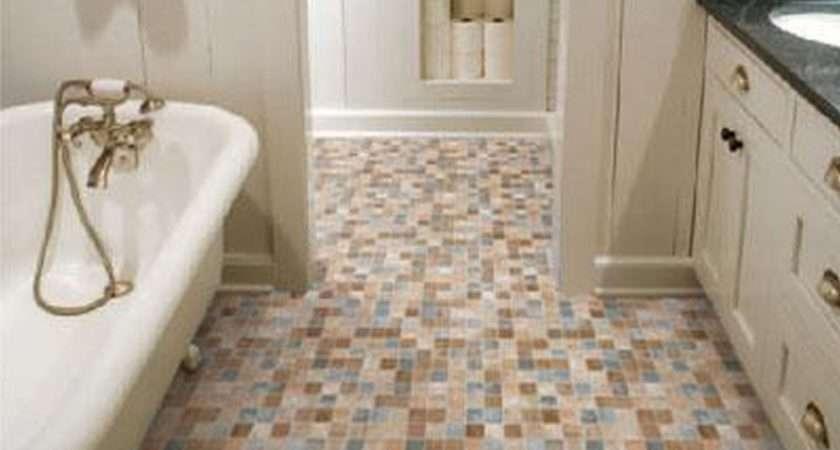Small Bathroom Floor Tile Design Ideas